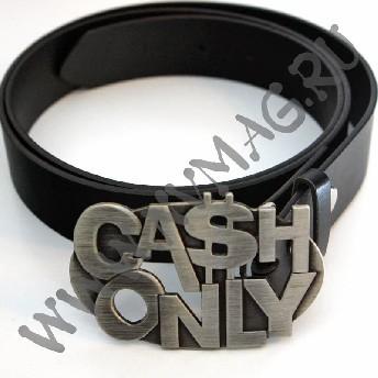 Кожаный ремень Cash Only