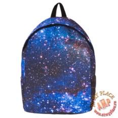 Синий рюкзак Космос