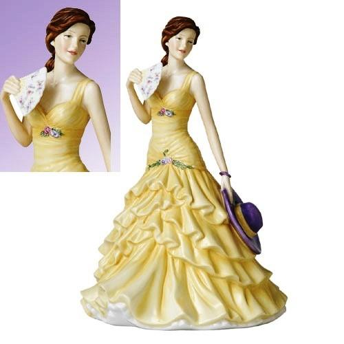 Коллекционная фарфоровая статуэтка Джессика, 22 см