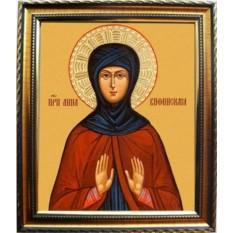 Икона на холсте Анна Вифинская преподобная