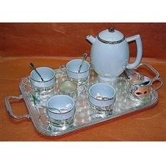 Чайный сервиз на 4 персоны с чайником