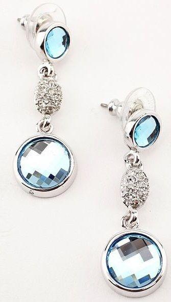 Серьги с кристаллами Swarovski Мечта Мери