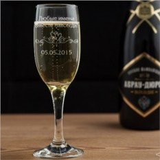 Бокал для шампанского Вместе навсегда
