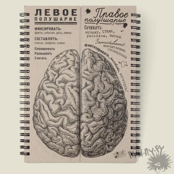 """Блокнот """"Мозги"""""""