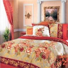 Постельное белье Красный гобелен (двуспальный комплект)