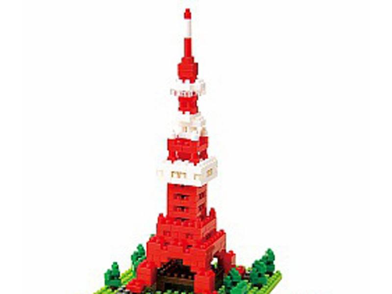 Головоломка Nanoblock Телебашня Tokyo Tower