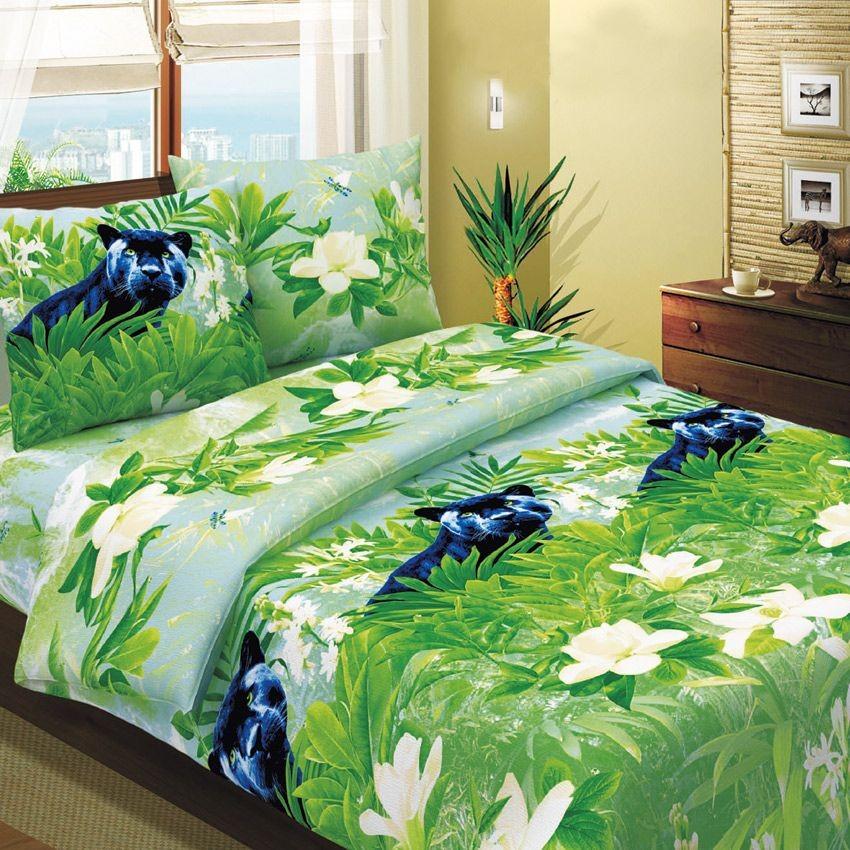 Комплект постельного белья Пантера (2-спальный)