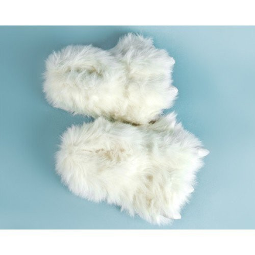 Тапочки в виде белых лап «Бигфут»