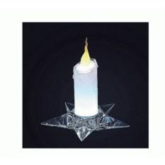 Светодиодная свеча с подсвечником Candela