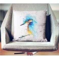 Декоративная наволочка Взрыв цвета: Райская птица