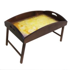 Столик для завтрака с высоким бортиком В ожидании любви