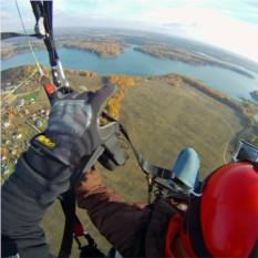 30 минут высотного парящего полета на параплане