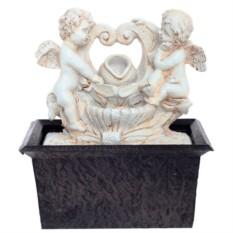 Настольный фонтан подсветкой Ангелы