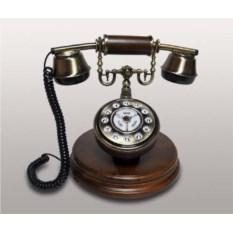 Деревянный ретро-телефон с кнопками Kit