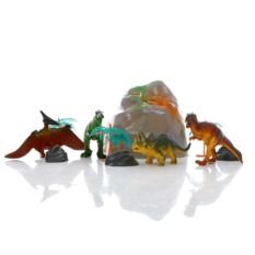 Игровой набор в тубе Динозавры