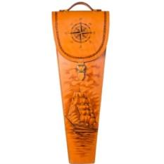 Подарочные шампура 6 штук в колчане Парусник