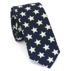 Узкий галстук (звезды)