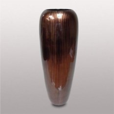 Ваза из керамики (цвет: коричневый)