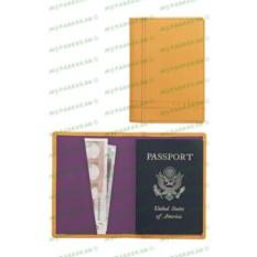 Песочный кожаный футляр для паспорта Cross Legacy