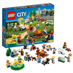 Конструктор Lego City Праздник в парке- жители LEGO City
