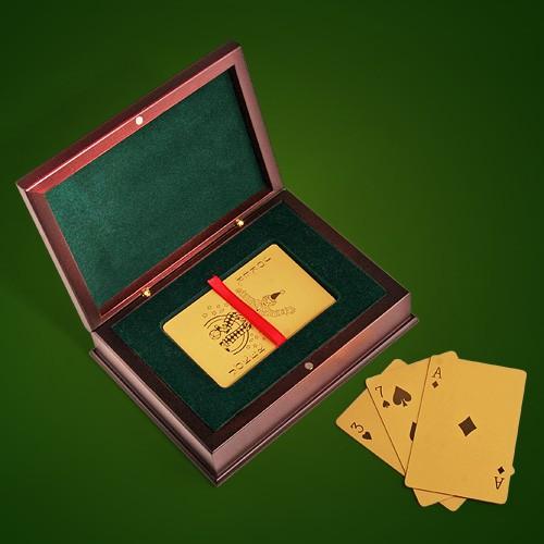 Карты игральные Золотая колода