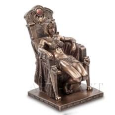 Статуэтка Клеопатра на троне