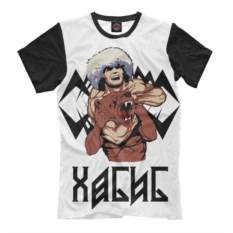Мужская футболка Print Bar Хабиб и медведь