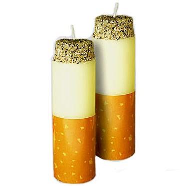 Необычные свечи Сигареты