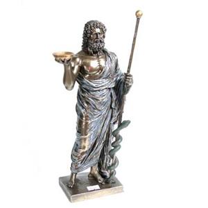 Бронзовая статуэтка «Эскулап»