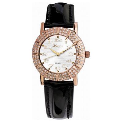 Женские золотые часы «Омела»