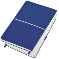 Бизнес-блокнот Franky в линейку (цвет — синий)
