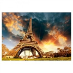 Картина-раскраска по номерам на холсте Париж, Париж