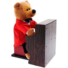 Поющая игрушка «Медвежонок Пианист»