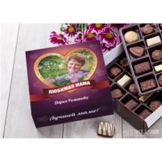 Бельгийский шоколад в подарочной упаковке Любимой маме