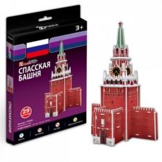 3D пазл Cubic Fun Спасская башня (Россия)
