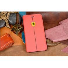 Кожаный чехол для iPhone 6S/6 Ferrari