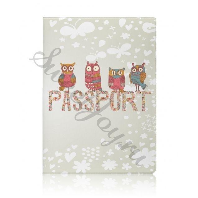 Обложка для паспорта Miusli Owls