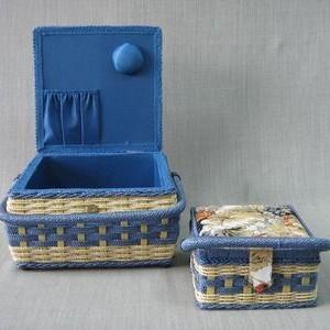 Набор шкатулок для рукоделия