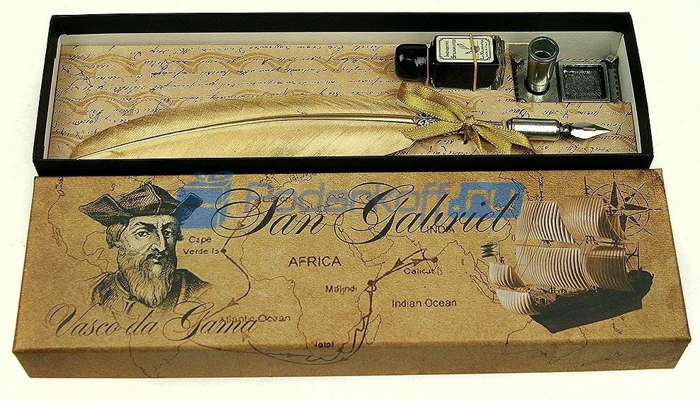 Подарочный набор для письма Васко да Гама