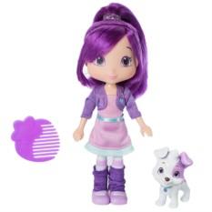 Кукла Strawberry Shortcake с питомцем Сливка