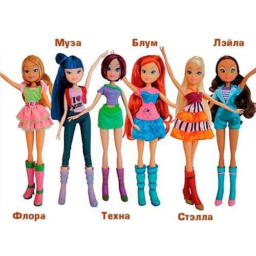 Кукла Winx Друзья навсегда