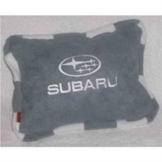 Серая подушка с кантом Subaru