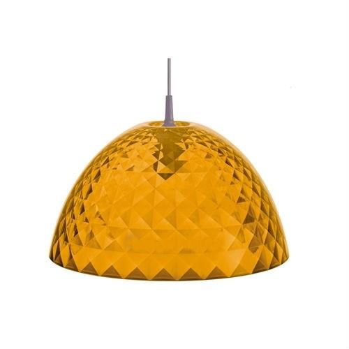Подвесной кухонный светильник Stella M, прозрачный-оранжевый
