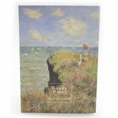 Креативбук Клод Моне Прогулка по скалам Пурвиля
