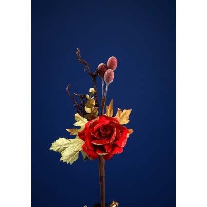 Новогоднее украшение Цветок