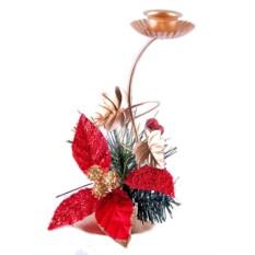 Рождественский подсвечник Листья