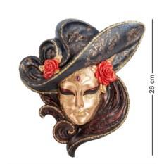 Венецианская маска Розы (бронзовая шляпа)