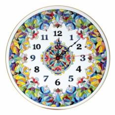 Необычные часы круглой формы