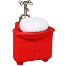 Керамический дозатор для моющего средства с губкой
