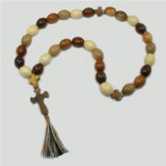 Христианские четки из осины, абрикоса, черешни и сливы
